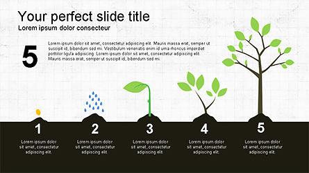Tree Grow Presentation Template, Slide 6, 04284, Business Models — PoweredTemplate.com