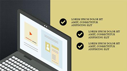 Online Marketing Presentation Template, Slide 10, 04285, Presentation Templates — PoweredTemplate.com