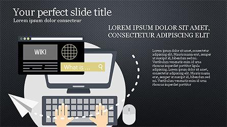 Online Marketing Presentation Template, Slide 12, 04285, Presentation Templates — PoweredTemplate.com