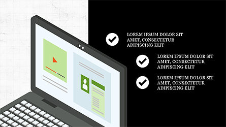 Online Marketing Presentation Template, Slide 2, 04285, Presentation Templates — PoweredTemplate.com