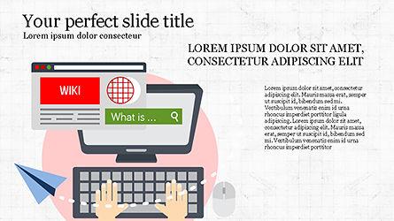 Online Marketing Presentation Template, Slide 4, 04285, Presentation Templates — PoweredTemplate.com