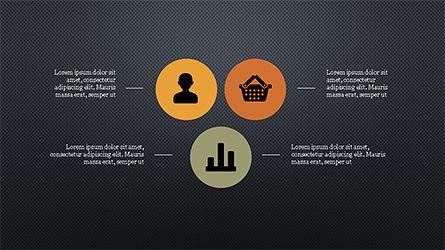 Flat Round Icons Presentation Template, Slide 13, 04286, Icons — PoweredTemplate.com