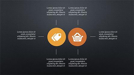 Flat Round Icons Presentation Template, Slide 16, 04286, Icons — PoweredTemplate.com