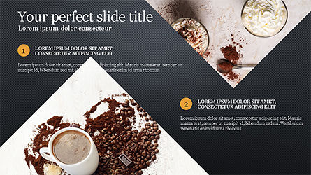 Coffee Presentation Template, Slide 11, 04287, Presentation Templates — PoweredTemplate.com
