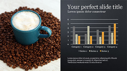 Coffee Presentation Template, Slide 12, 04287, Presentation Templates — PoweredTemplate.com
