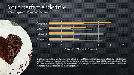 Coffee Presentation Template, Slide 14, 04287, Presentation Templates — PoweredTemplate.com