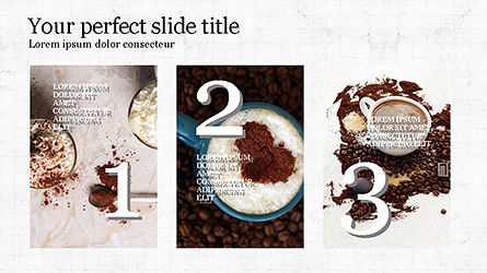 Coffee Presentation Template, Slide 5, 04287, Presentation Templates — PoweredTemplate.com