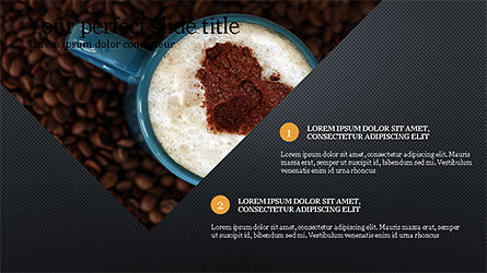 Coffee Presentation Template, Slide 9, 04287, Presentation Templates — PoweredTemplate.com