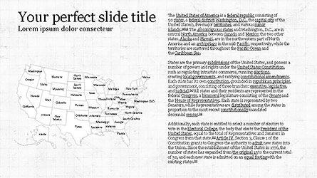United States Presentation Template, Slide 4, 04288, Infographics — PoweredTemplate.com