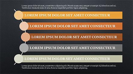 Agenda Options Template, Slide 12, 04289, Stage Diagrams — PoweredTemplate.com