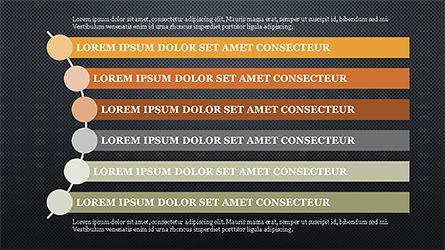 Agenda Options Template, Slide 13, 04289, Stage Diagrams — PoweredTemplate.com