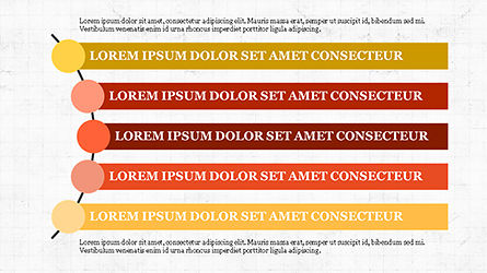 Agenda Options Template, Slide 5, 04289, Stage Diagrams — PoweredTemplate.com