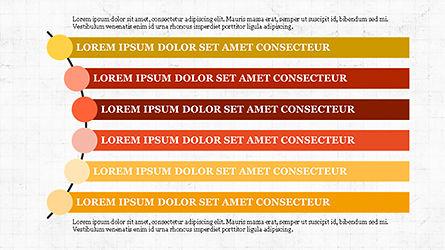 Agenda Options Template, Slide 6, 04289, Stage Diagrams — PoweredTemplate.com
