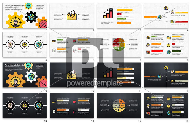 Colorful Marketing Presentation Template