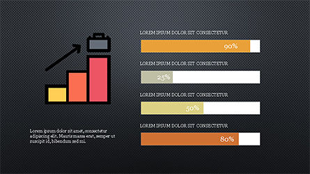 Colorful Marketing Presentation Template, Slide 11, 04291, Icons — PoweredTemplate.com