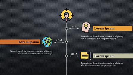 Colorful Marketing Presentation Template, Slide 12, 04291, Icons — PoweredTemplate.com