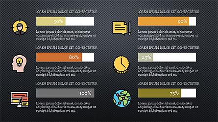 Colorful Marketing Presentation Template, Slide 16, 04291, Icons — PoweredTemplate.com
