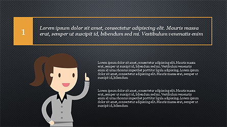 Colorful Illustrative Presentation Template, Slide 16, 04292, Presentation Templates — PoweredTemplate.com
