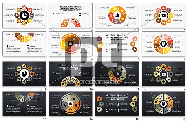 Circular Diagrams Set
