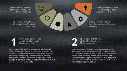 Circular Diagrams Set, Slide 13, 04293, Process Diagrams — PoweredTemplate.com
