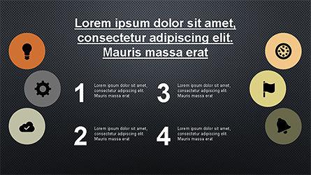Circular Diagrams Set, Slide 15, 04293, Process Diagrams — PoweredTemplate.com