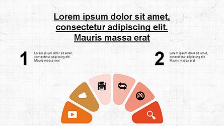 Circular Diagrams Set, Slide 2, 04293, Process Diagrams — PoweredTemplate.com