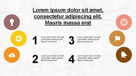 Circular Diagrams Set, Slide 7, 04293, Process Diagrams — PoweredTemplate.com