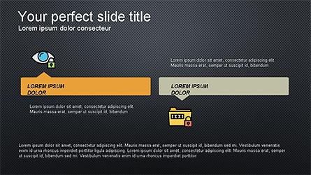 Software Security Presentation Template, Slide 14, 04294, Presentation Templates — PoweredTemplate.com