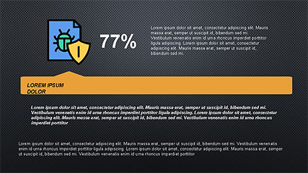 Software Security Presentation Template, Slide 16, 04294, Presentation Templates — PoweredTemplate.com