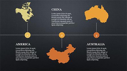 Countries Report Slide Deck, Slide 14, 04297, Infographics — PoweredTemplate.com