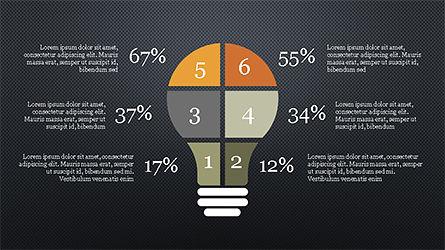 Options and Steps Slide Deck, Slide 13, 04298, Stage Diagrams — PoweredTemplate.com