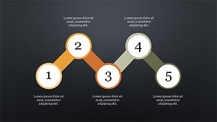 Options and Steps Slide Deck, Slide 14, 04298, Stage Diagrams — PoweredTemplate.com