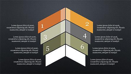 Options and Steps Slide Deck, Slide 15, 04298, Stage Diagrams — PoweredTemplate.com