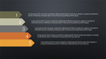 Options and Steps Slide Deck, Slide 16, 04298, Stage Diagrams — PoweredTemplate.com