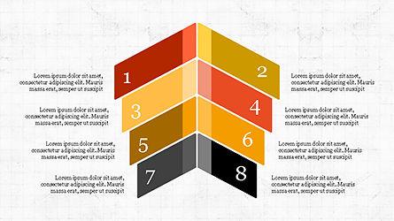 Options and Steps Slide Deck, Slide 7, 04298, Stage Diagrams — PoweredTemplate.com