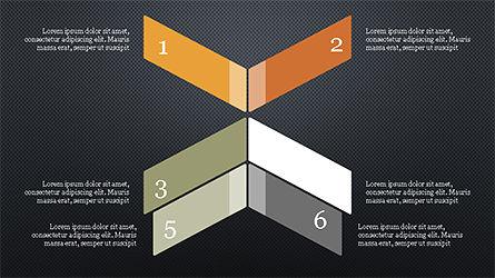 Options and Steps Slide Deck, Slide 9, 04298, Stage Diagrams — PoweredTemplate.com