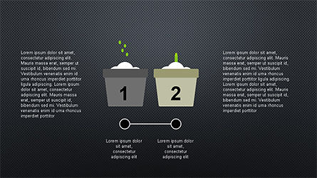 Plant Grow Presentation Template, Slide 11, 04299, Presentation Templates — PoweredTemplate.com