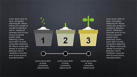 Plant Grow Presentation Template, Slide 12, 04299, Presentation Templates — PoweredTemplate.com
