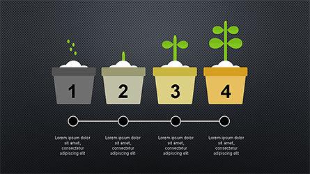 Plant Grow Presentation Template, Slide 13, 04299, Presentation Templates — PoweredTemplate.com