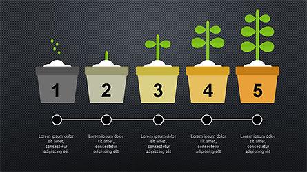 Plant Grow Presentation Template, Slide 14, 04299, Presentation Templates — PoweredTemplate.com