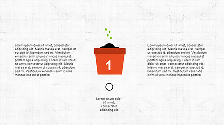 Plant Grow Presentation Template, Slide 3, 04299, Presentation Templates — PoweredTemplate.com