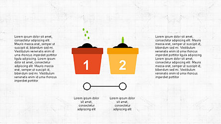Plant Grow Presentation Template, Slide 4, 04299, Presentation Templates — PoweredTemplate.com