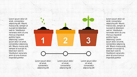 Plant Grow Presentation Template, Slide 5, 04299, Presentation Templates — PoweredTemplate.com