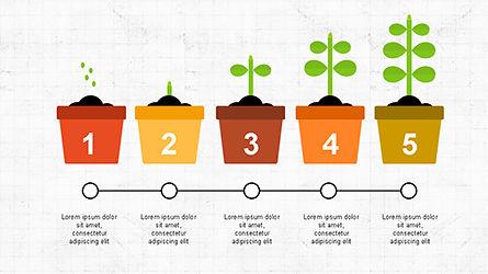 Plant Grow Presentation Template, Slide 7, 04299, Presentation Templates — PoweredTemplate.com