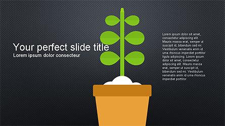 Plant Grow Presentation Template, Slide 8, 04299, Presentation Templates — PoweredTemplate.com