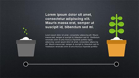 Plant Grow Presentation Template, Slide 9, 04299, Presentation Templates — PoweredTemplate.com