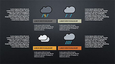 Weather Infographics, Slide 13, 04300, Infographics — PoweredTemplate.com