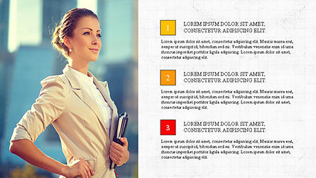 Brochure Presentation Template, 04302, Presentation Templates — PoweredTemplate.com