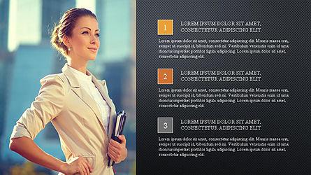 Brochure Presentation Template, Slide 9, 04302, Presentation Templates — PoweredTemplate.com