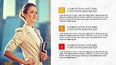 Presentation Templates: Brochure presentatiesjabloon #04302